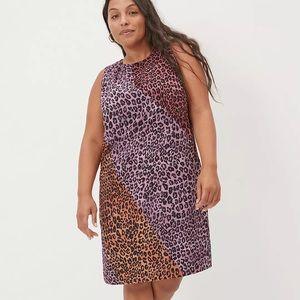 Leopard Print ANTHRO Dress